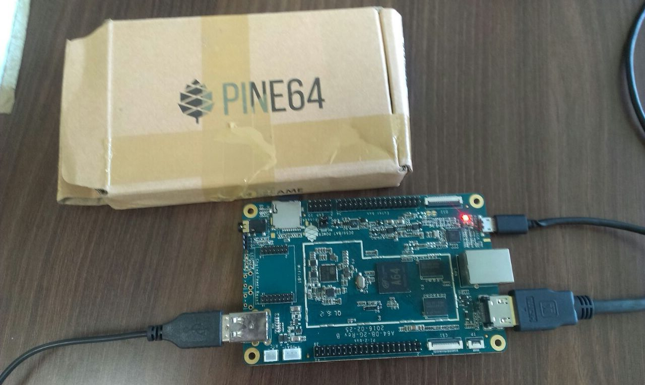 Pine 64 unboxing