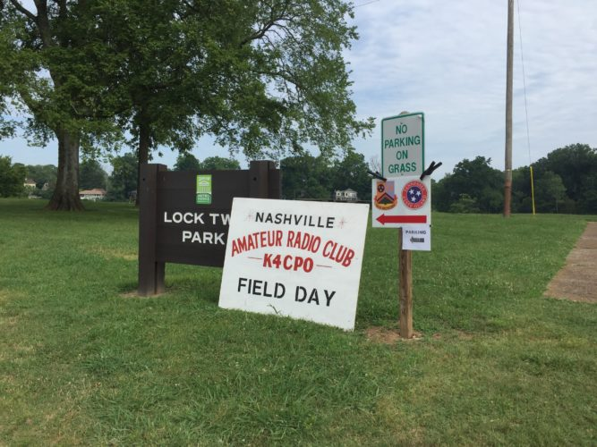 ARRL Field Day 2016 @ Nashville, TN