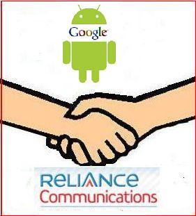 Google Reliance partnership