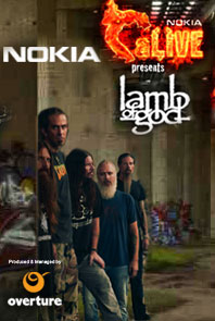 Lamb Of God Visits Bangalore, India For the Resolution Tour on 26 May 2012