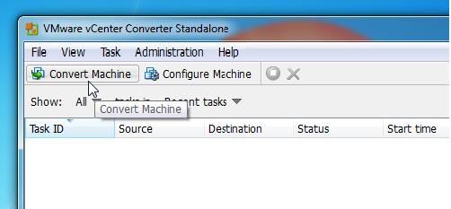 P2V Physical To Virtual conversion Using VMware vCenter