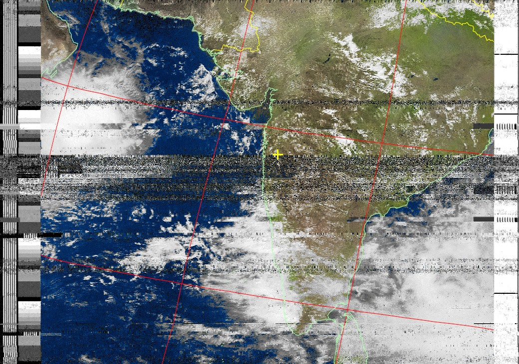Receiving NOAA Weather satellite Images using RTL SDR dongle