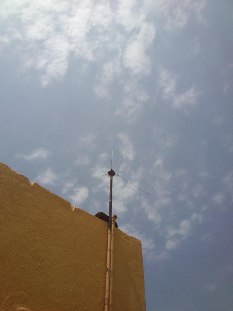 How I Built a VHF Ground Plane antenna for HAM Band