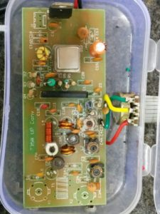HF Upconverter used for receiving HF bands on RTL SDR