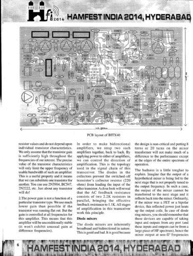 Hamfest India 2014 Souvenir - BITX40 - Page 3
