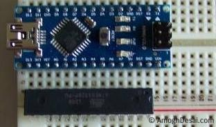 Bootload / program Atmega328 with Nano / Uno as ISP