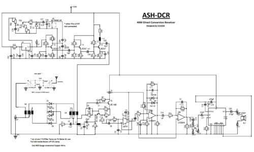 ASHDCR Direct Conversion Receiver