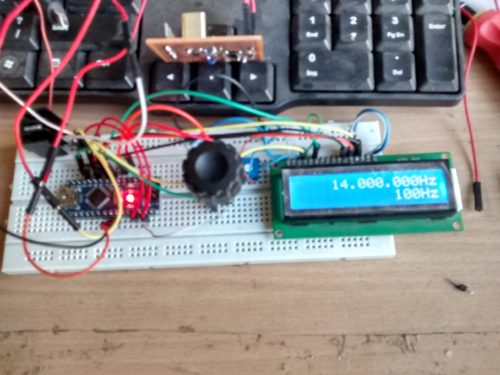 Homebrewing a SI5351 breakout board and VFO | AmoghDesai com