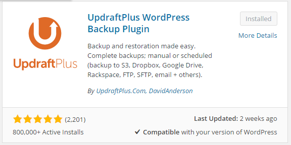 How to Backup Wordpress site and Database to Google Drive